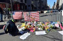 boston marathon memorial site