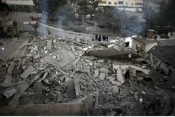 haniyeh rubble hamas hq