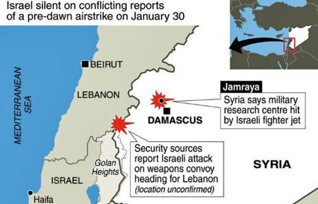 Avrech: Israeli Jets Bomb Syrian Weapons Compound