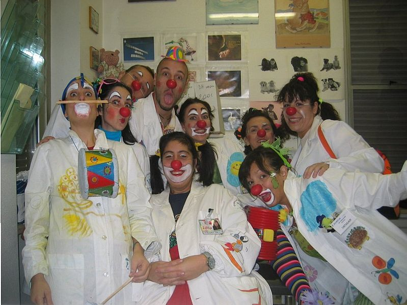 medical clowning