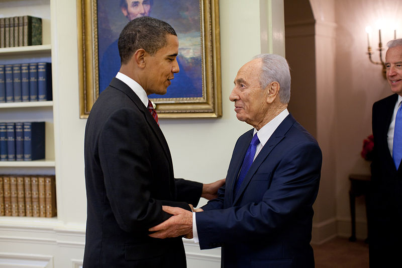 obama peres
