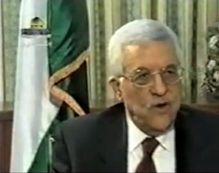 abbas admits pa sent terrorists to kill israelis