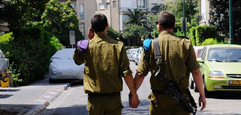 idf gay photo