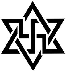 raelian symbol swastika day