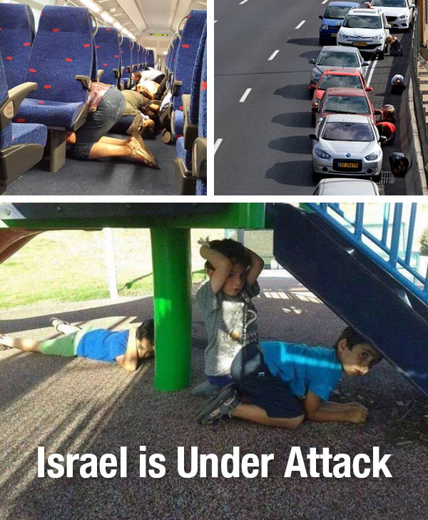Israel is under rocket attack again.