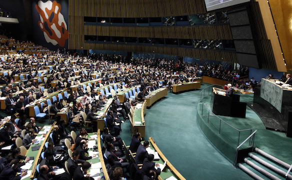 united nations vote