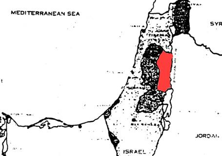 us advised against israel pulling out of judea and samaria in 1967