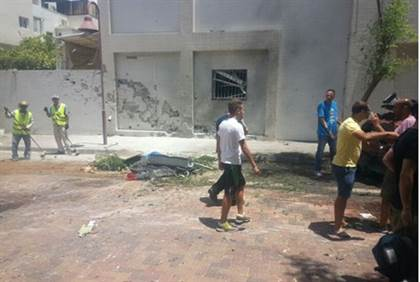 israeli killed from rocket fire
