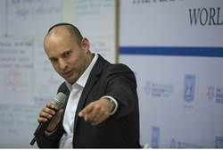 naftali bennett says no to 67 lines, no to splitting jerusalem