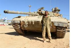 first bedouin tank commander in idf