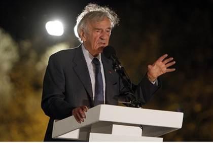 elie wiesel to be israeli president?