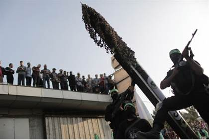 hamas rockets rain down on israel in