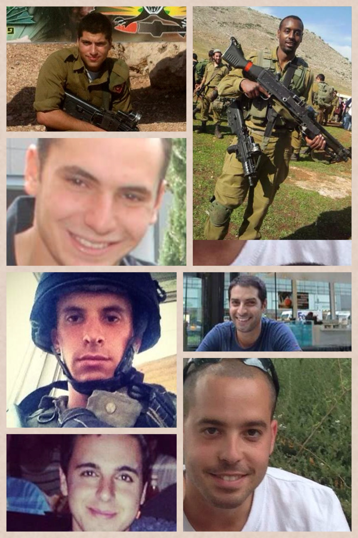 soldiers killed in gaza