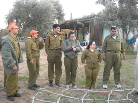 special needs unit in the IDF
