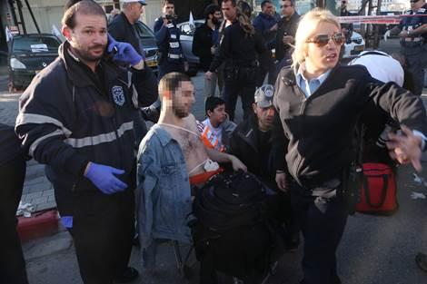 Tel Aviv Bus Stabbing