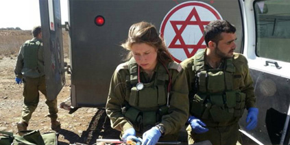 idf saving lives in syria