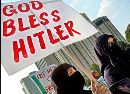 islam, israel, hitler