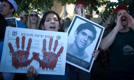 israelis protests prisoner release