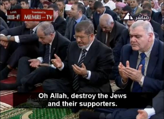 morsi accused of being jewish