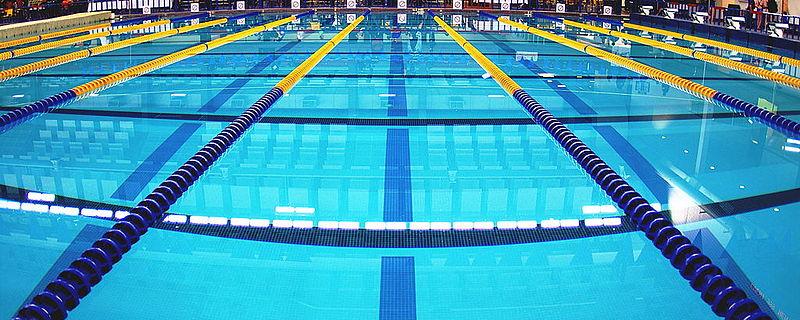 one swim lane to the left