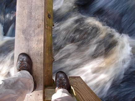 is the whole world a narrow bridge?