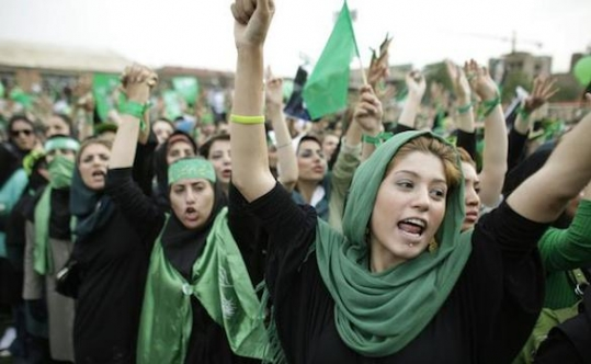 where are the women, arab spring?