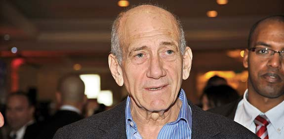 olmert sentenced to 6 yrs for bribery