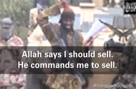 nigerian girls kidnapped to be sold for alllah