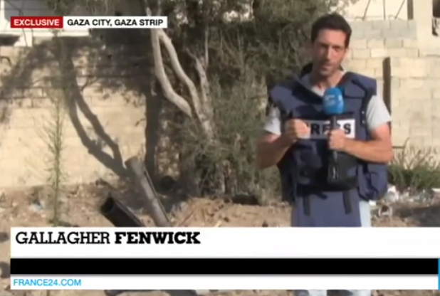 french reporter proves hamas launches rockets from civilian areas
