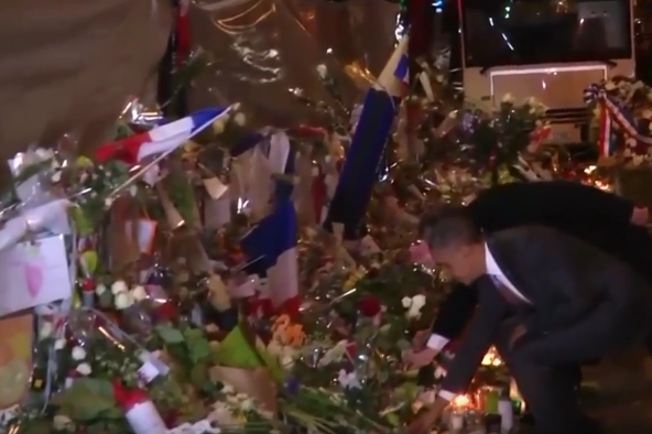 obama paris tribute