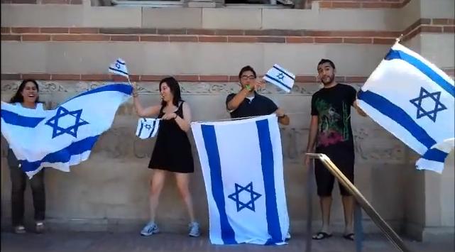 ucla pro israel rally