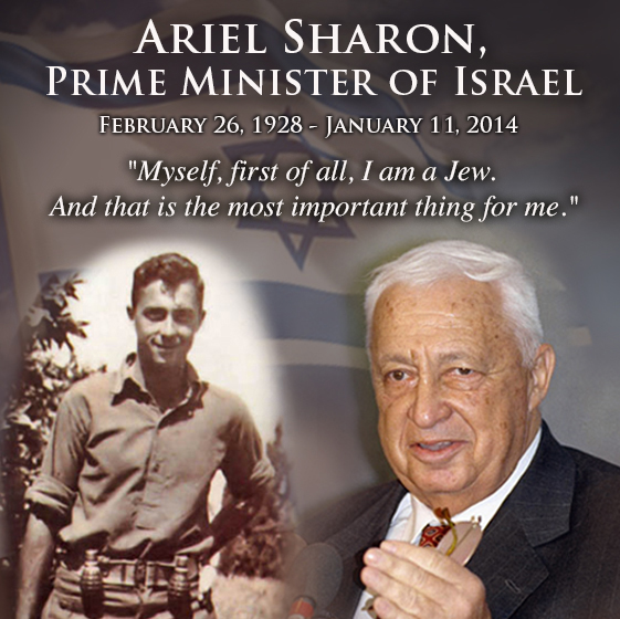 ariel sharon bad condition