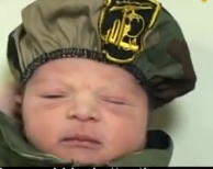 baby inducted into hezbollah