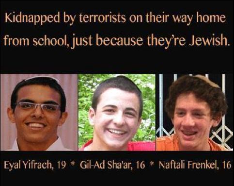 kidnapped israeli boys confirmed dead