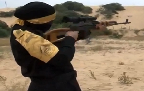 fatah glorifies women rocket launchers