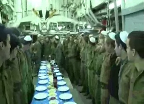 idf soldiers sing sabbath song about peace on way to stop iranian weapons shipment to gaza