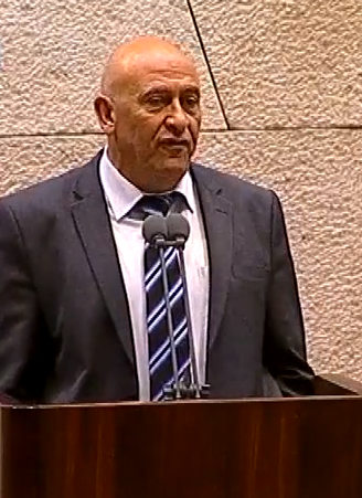 knesset member poses moment of silence for dead in gaza