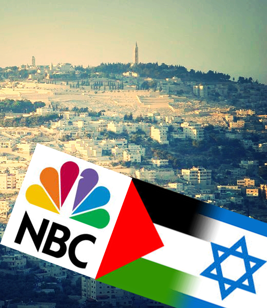 nbc show to be filmed in israel upsets palestinians