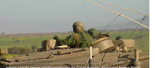 israel sends troop reinforcements to gaza