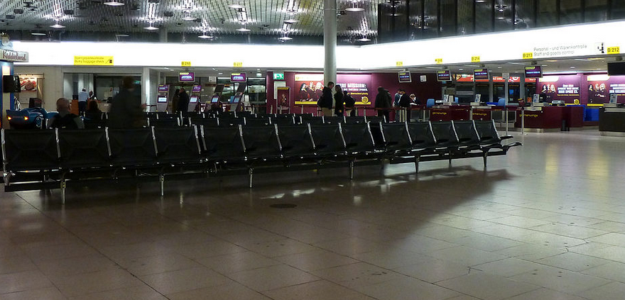 hannover airport bomb