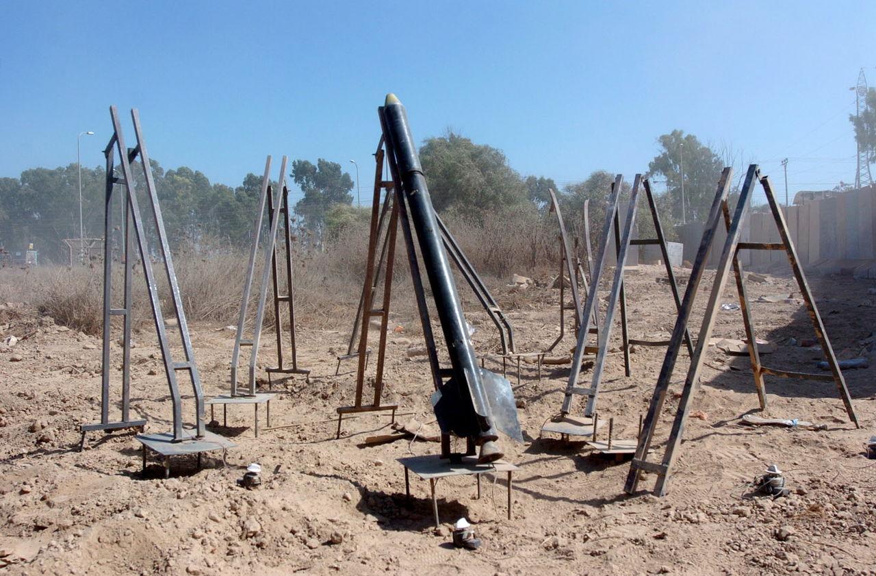 rocket lands in sderot