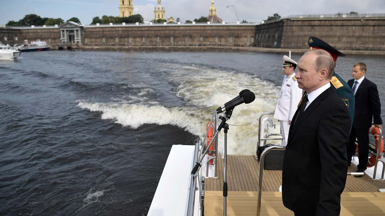 putin raises russian ban on iran