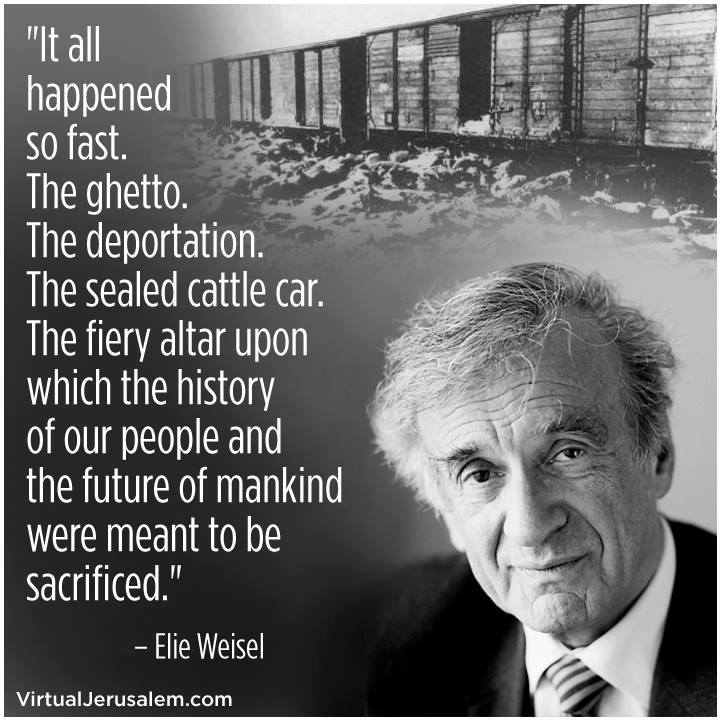 Elie Wiesel Has Passed Away