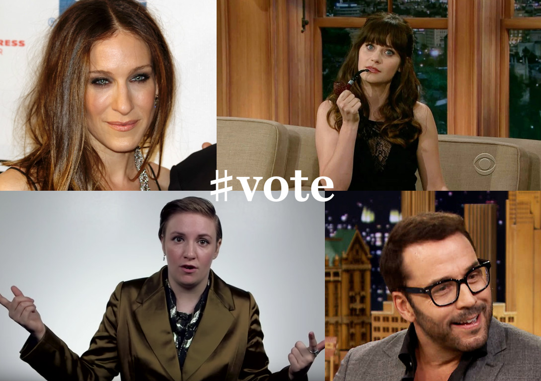 9e16cf85bb3 These Jewish Celebrities Want You to Get Out and  Vote